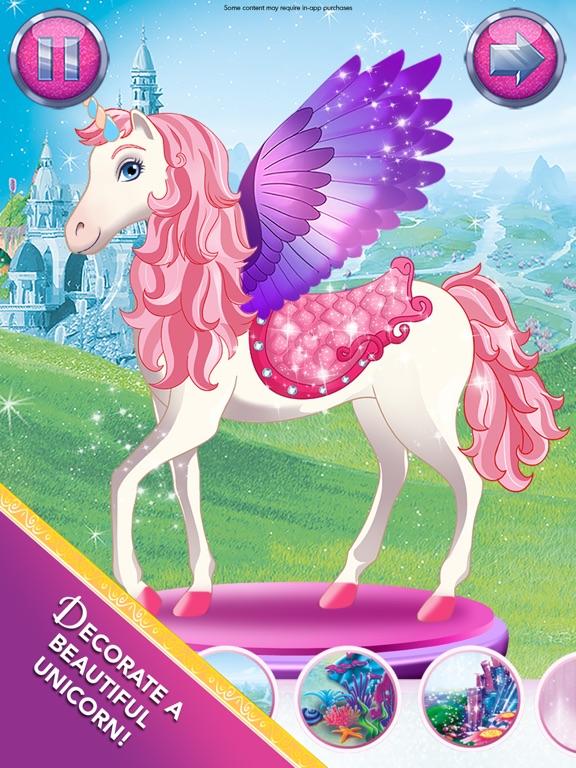 Barbie Magical Fashion iPad app afbeelding 4