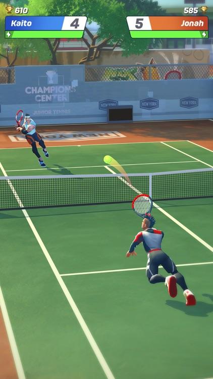Tennis Clash: Online League screenshot-6
