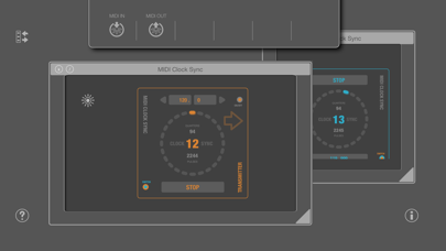 MIDI SWEET : Clock Sync (AU) screenshot 2