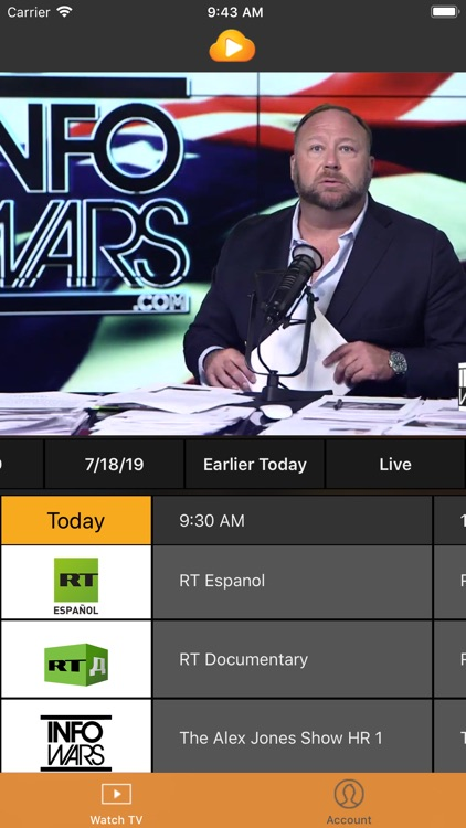 KlowdTV screenshot-3