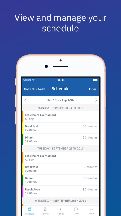 The Sports Office App