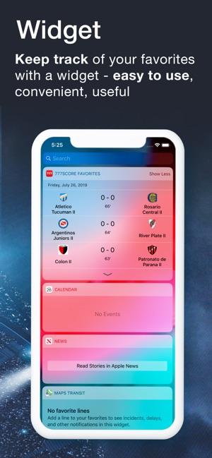 777score on the App Store