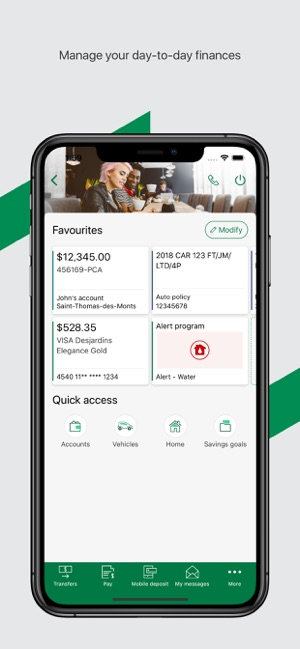 Carte Brick Visa Desjardins.Desjardins Mobile Services On The App Store