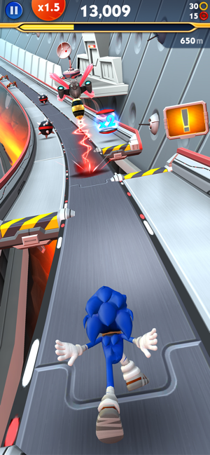‎Sonic Dash 2: Sonic Boom Screenshot