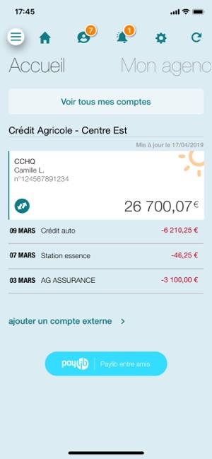 telecharger application credit agricole nord de france
