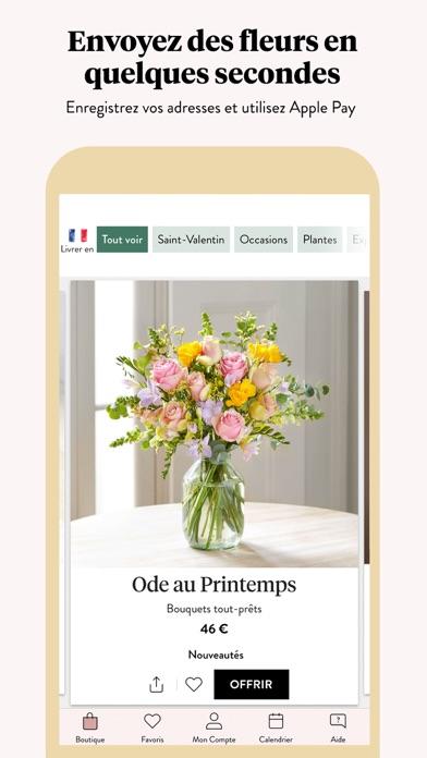 Screenshot #1 pour Bloom & Wild Fleurs & Cadeaux