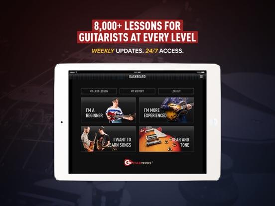 Guitar Lessons by Guitar Tricks screenshot