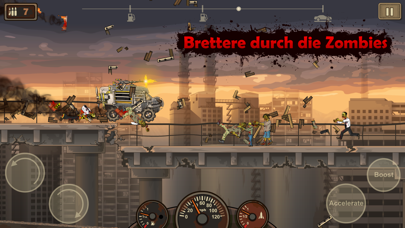 Screenshot for Earn to Die 2 in Switzerland App Store