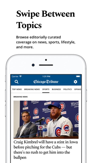 Chicago Tribune review screenshots
