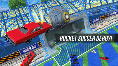 Rocket Soccer Derbyのおすすめ画像1