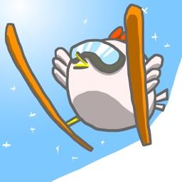 Bird Ski Jump