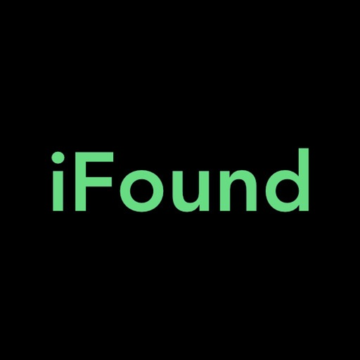 iFound What You Lost iOS App