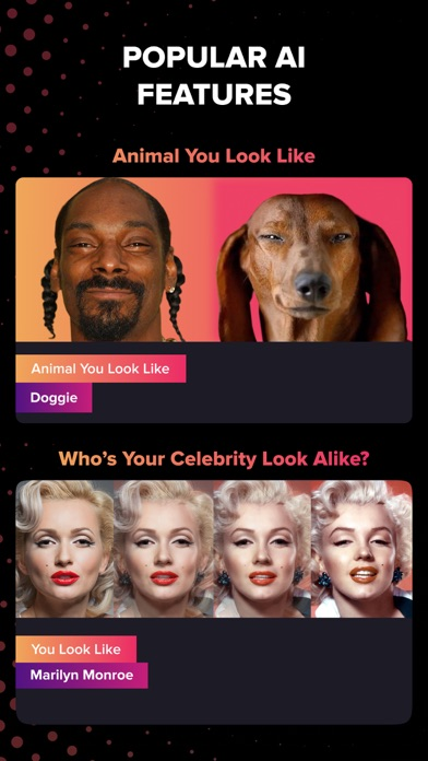 Gradient: Animal You Look Like Screenshot