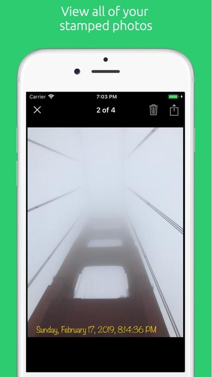 Timestamp It - Photo Stamper screenshot-3