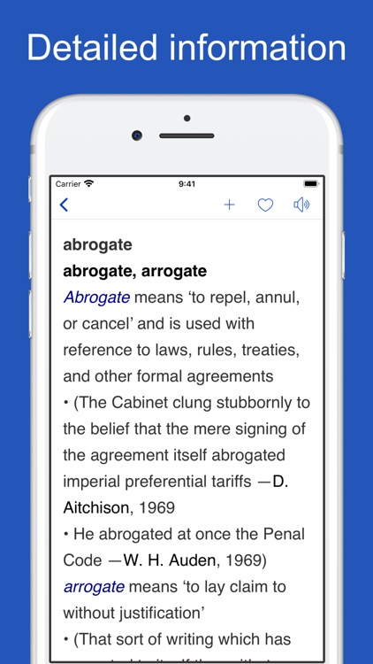 English Usage Dictionary