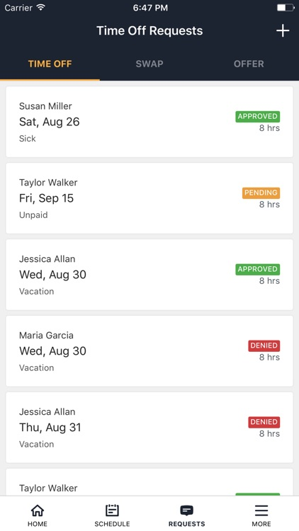 Staffvelox Employee Scheduling screenshot-3