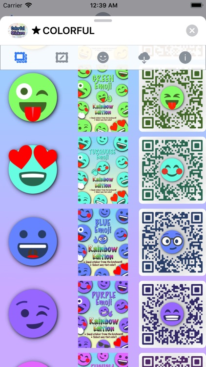 Colorful Stickers and Emoji screenshot-6