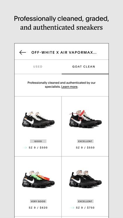 GOAT – Shop Sneakers screenshot-4