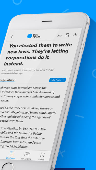 Screenshot for USA TODAY in United States App Store