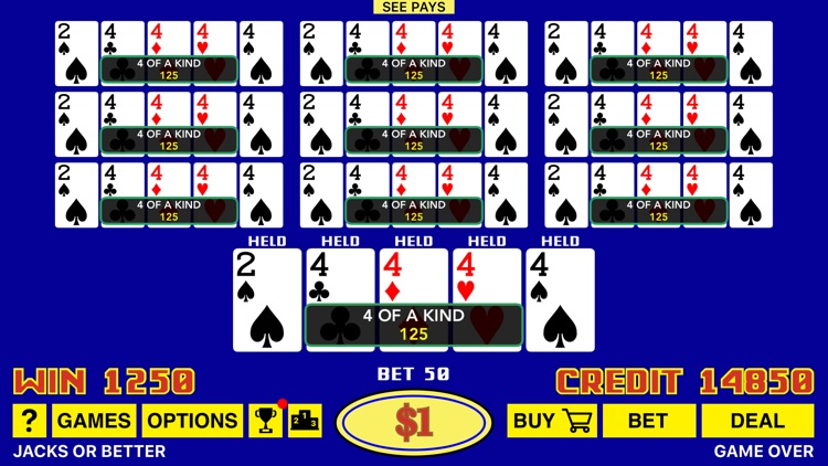 The Classic Video Poker screenshot-3