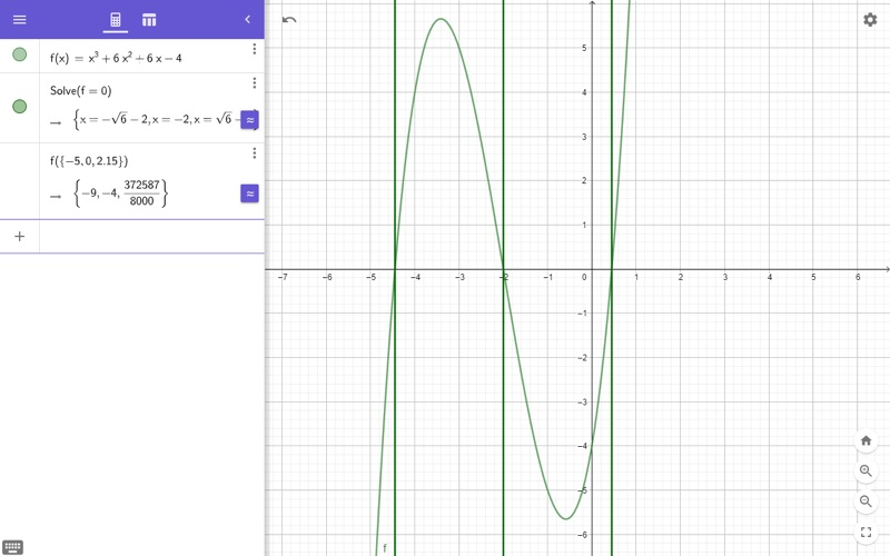 GeoGebra CAS Calculator for Mac