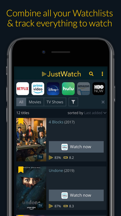 JustWatch - Movies & TV Shows - パソコン用