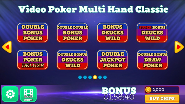 Video Poker Vegas Multi Hand