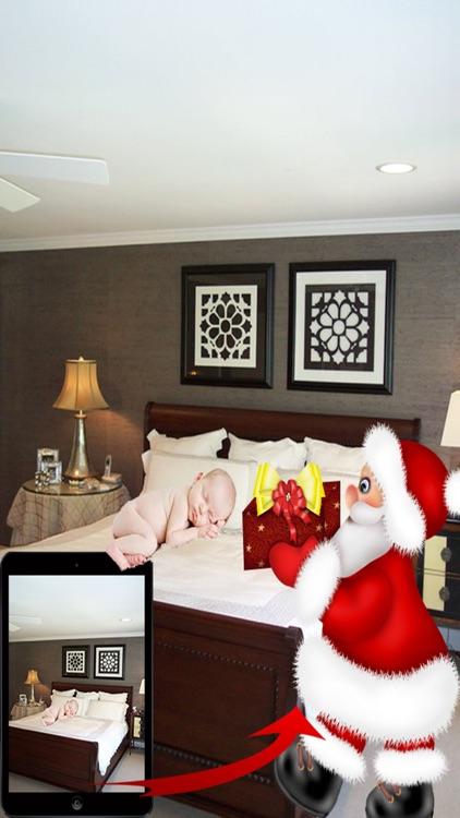 Catch Santa Claus - Take Photo