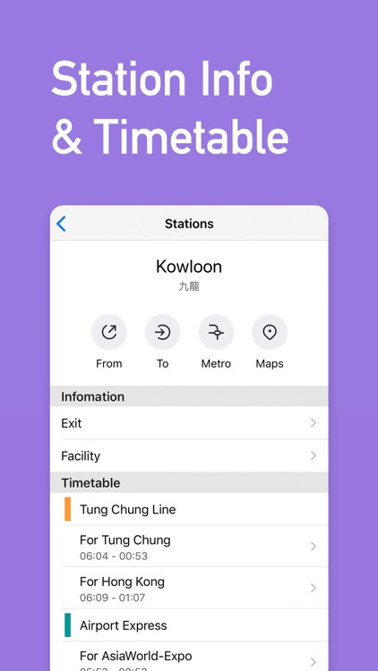 Metro Hong Kong Subway screenshot-3