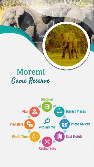 Moremi Game Reserve screenshot 2