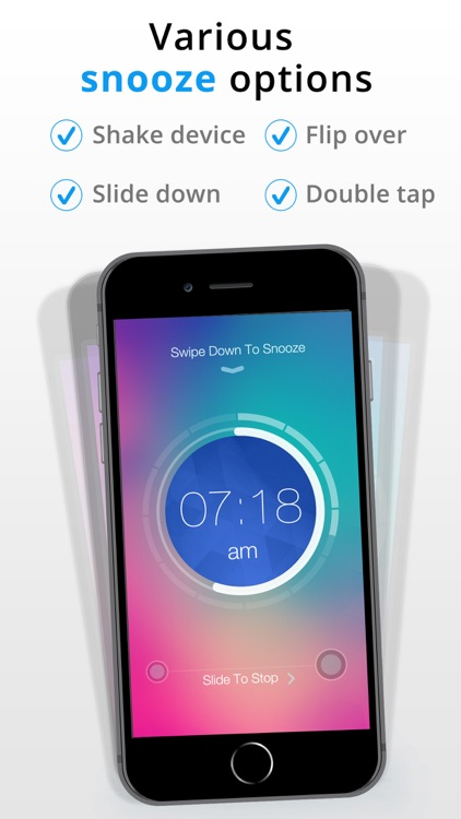 Gesture Alarm Clock screenshot-1