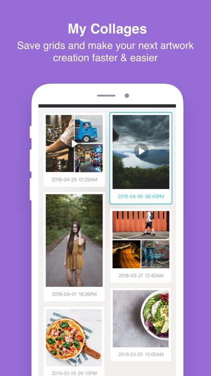 PhotoGrid - Pic Collage Maker screenshot-4