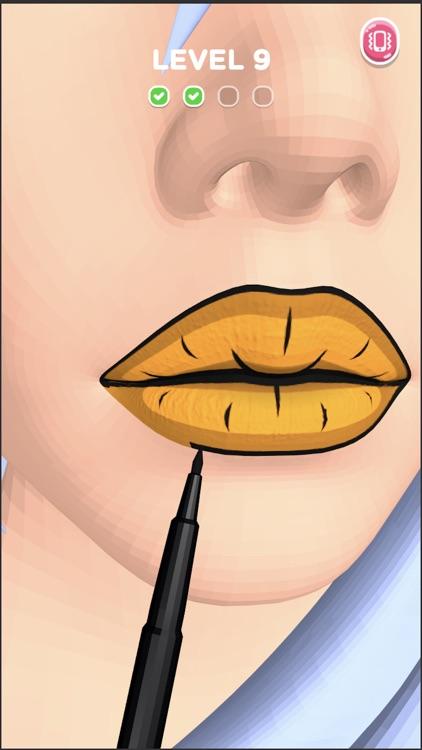 Lip Art 3D screenshot-4