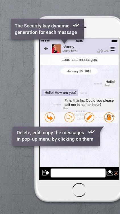 SafeUM - secure messenger screenshot-3