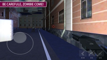 Zombie Target: War Death City screenshot 1