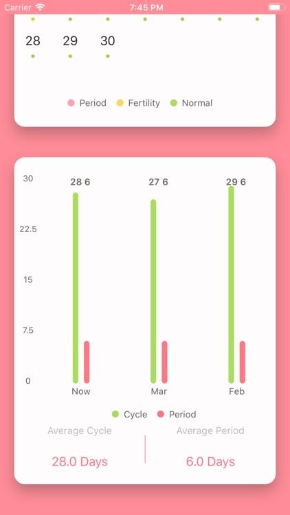 MMD Period Tracker Calendar screenshot-3