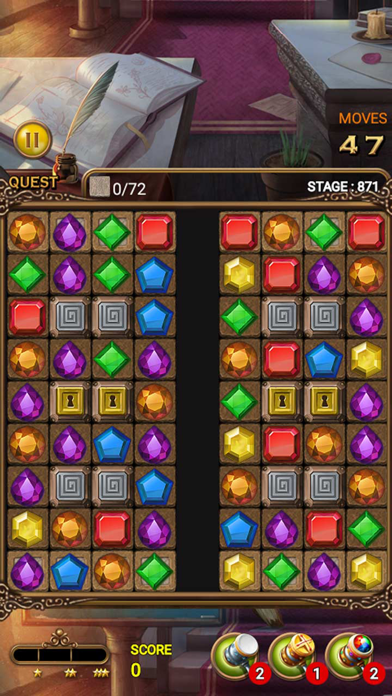 Jewels Magic Quest screenshot 5