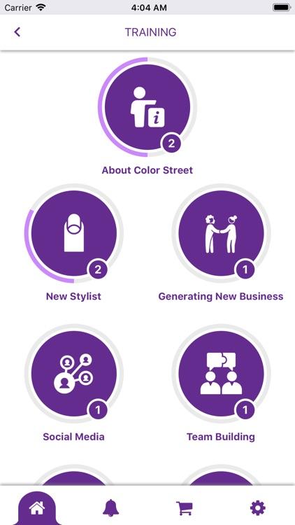 Color Street Stylist App