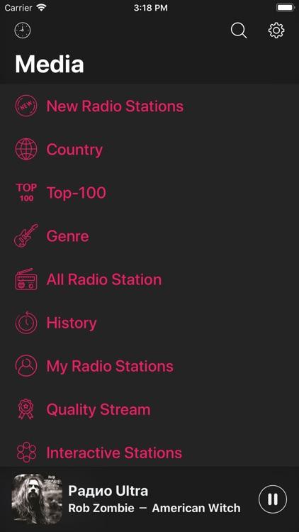 Radio - FM/AM Internet Radio screenshot-4