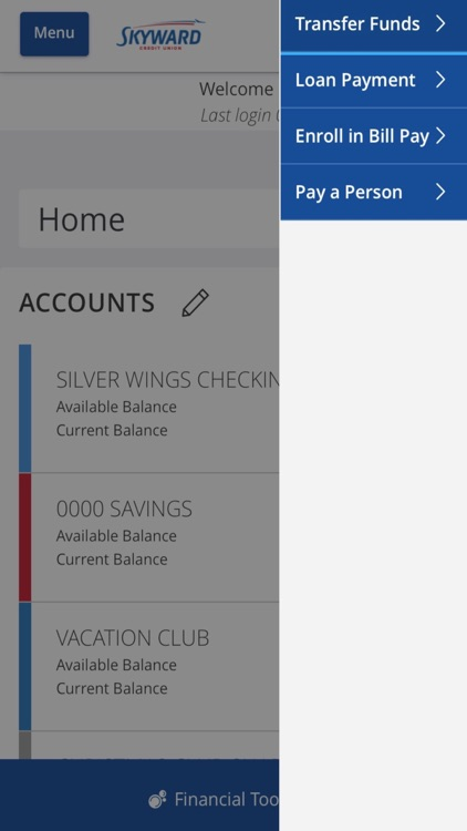 Skyward Credit Union Mobile screenshot-3