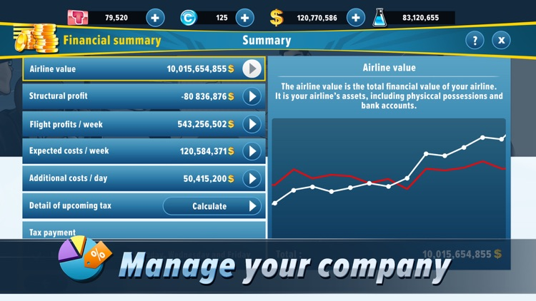 Airlines Manager : Tycoon 2019 screenshot-4