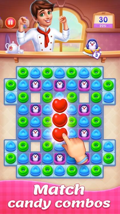 Candy Sweet Legend - Match 3 screenshot-5