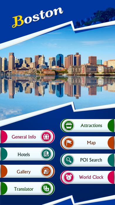 Boston Tourism Guide screenshot two