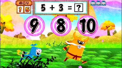算数忍者〜たし算ひき算の巻〜子供向け学習アプリのおすすめ画像1