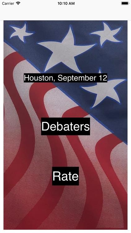 Rate the Debate