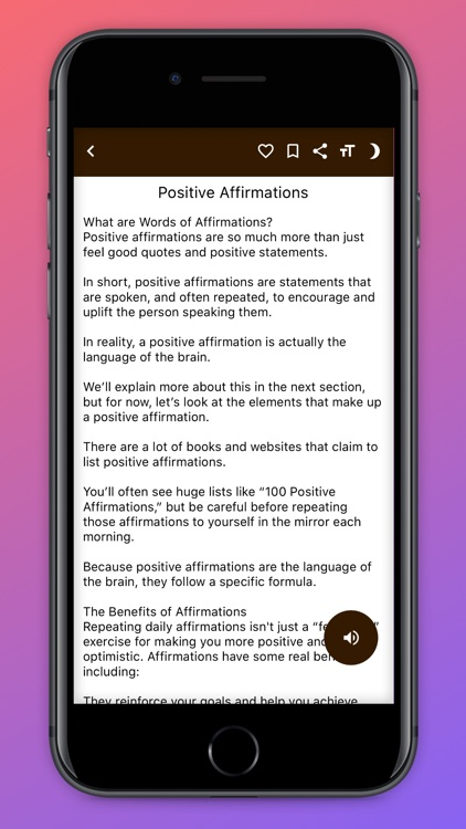 Law Of Attraction Guide. screenshot-5