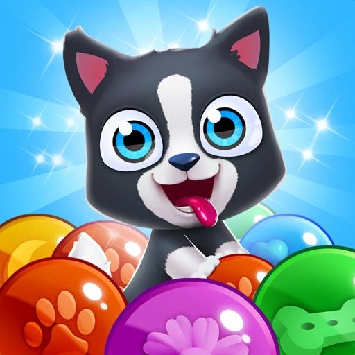 Pet Paradise: Bubble Pop Match iOS App