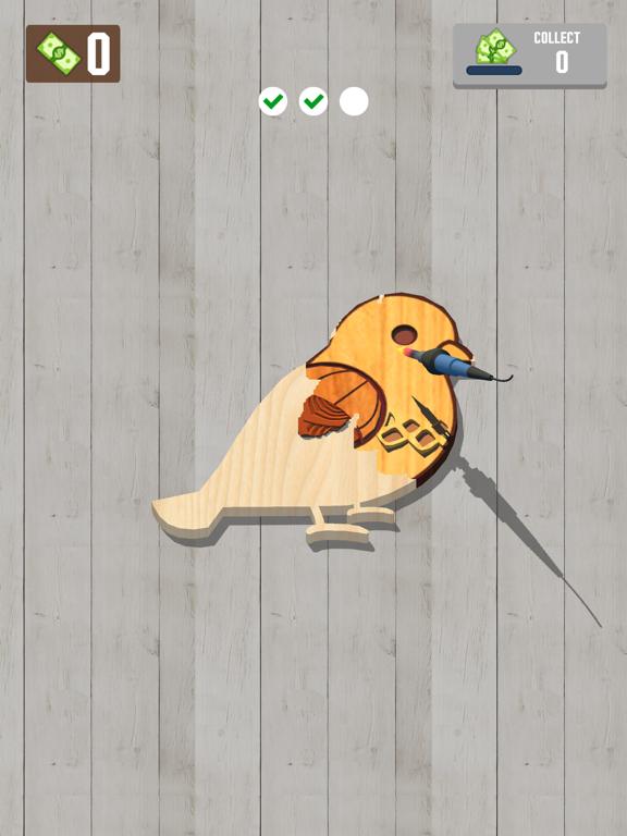 Woodcraft - 3D Carving Game screenshot 10