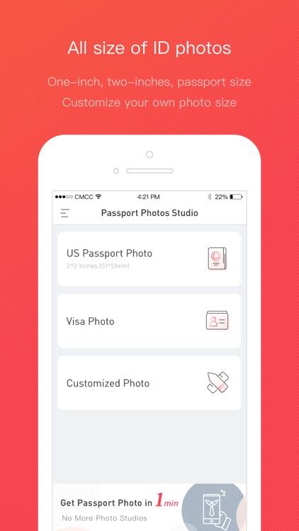 Passport photo studio screenshot-4