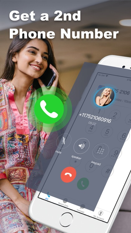 2nd Phone Number: IM Calling screenshot-0